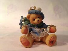 Cherished Teddies - Bear With Dangling Snowflakes Ornament Dated 1997- #272175