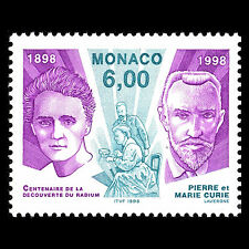 Monaco 1998 - 100th Anniversary of Discovery of Radium - Sc 2072 MNH