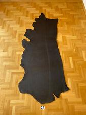 Veg Tan Leather 4,6-5,2 mm Black Crust Side Full Grain Good quality Cow