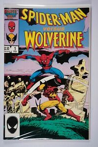 Spider-man versus Wolverine 1 - VF - Combined Shipping Available