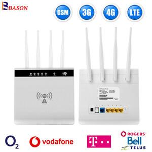 Unlocked Sim Card Wifi Router Vodafone European Wifi Hotspot LTE Modem Gsm 4G