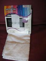 NEW Janlynn Cross Stitch Kitchen Towel #998-5002 WHITE Morning Glory Pattern Kit