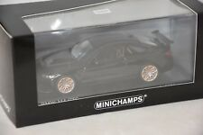 Minichamps 410025222 - BMW M4 GTS – 2016 BLACK / GREY WHEELS 1/43