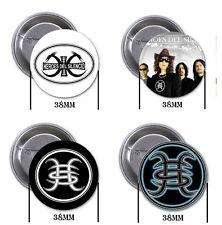 Héroes del Silencio - 4 chapas, pin, badge, button