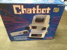 VINTAGE 1985 ROBOT CHATBOT by Tomy Japan Original Box W/remote,# 5404 MIB