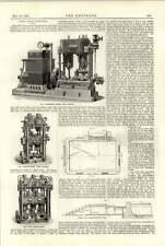 Motor de combinación de 1891 y motores de bomba centrífuga de Dinamo
