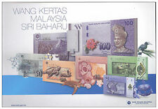 Malaysia 2012 NEW Series Banknotes complete set + 3rd Series Commemorative Coins