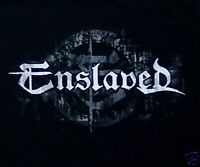 ENSLAVED cd lgo NEW LOGO Official SHIRT LAST SMALL New oop