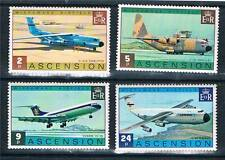 Ascension 1975 Wideawake Airfield SG187/90 MNH