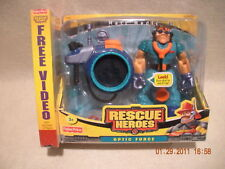 Rescue Heroes Optic Force Matt Medic BONUS VHS Factory Sealed!