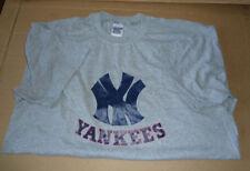 Vintage Sport T Shirt,NY Yankees,XL,Gildan Active Wear,Heavyweight,Ultra Blend
