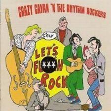 CD Crazy Cavan 'n' The Rhythm Rockers C'Mon Let's F***in Rock  - TEDDY BOY - NEW