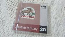 Pfaff Embroidery Machine Card Creative Fantasy #20 CANADA 7570,7560, 2140,2170