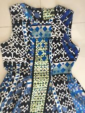 Multicolored Cue Dress Size 12
