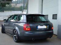 Trunk Spoiler for AUDI A4 B6 Avant Estate Roof Rear Wing Trim Lip Door Cover 8H