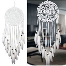 Dream Catcher Large Handmade Knitted Indian Dreamcatcher Home Bedroom Hanging UK