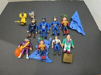 Vintage Kenner Police Academy Action Figures & Accessories Lot (7)Rare