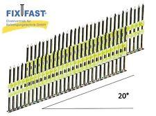 Streifennägel 20° 3,4x100 BK  kunststoffgebunden