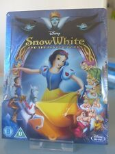 Blu ray steelbook Disney Snow White and the Seven Dwarfs Zavvi New Neuf sans VF