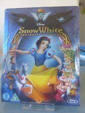 Blu ray steelbook Disney Snow White and the Seven Dwarfs Zavvi New Neuf sans VF