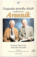 Oberkrainer Besetzung Noten : AVSENIK Originale Bearbeitungen 10 für Quintett