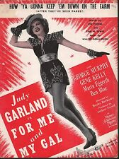 How Ya Gonna Keep Em Down On The Farm Judy Garland Gene Kelly For Me And My Gal
