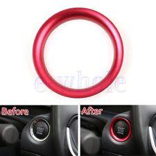 Engine Start Key Push Button Ring Trim Alloy For Mazda CX5 CX3 CX9 Axela Red GW