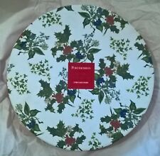 Portmeirion Holly and Ivy 2 Tier Cake Stand 25cm