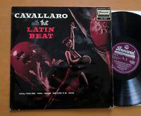 STA 3027 Cavallaro With That Latin Beat 1959 Brunswick Stereo EX/VG