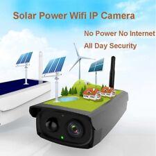 Outdoor Solar IP Camera Wifi IP Surveillance Wireless 1080P HD 2.0MP Waterproof