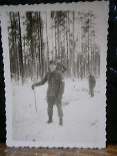 Photo argentique guerre 39 45 soldat Allemand wehrmacht WWII 2 Sous officier