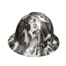 White Toxic Skull Pyramex Ridgeline Hard Hat