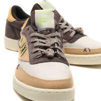 BS7496 Reebok Club C 85 Halloween Voodoo Doll Skull Sand Stone Men Shoes DS USA