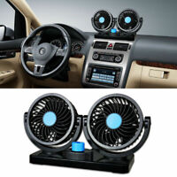12V Variable Speed Dual Head Automobile Air Con Fan Car Interior Cooling Machine