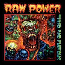 Raw Power - Tired And Furious LP / Green Vinyl / New (2014) Hardcore Punk Thrash