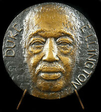 Médaille Duke Edward Ellington Jazzman Jazz music sc Germaine Rességuier Medal