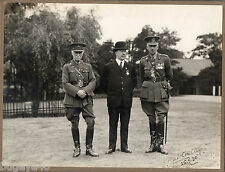 WW1 Officer Major G Walker Royal Engineers DSO MID later Major General autograph