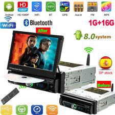 "7"" Android 8.0 Autoradio Bluetooth DVD Player WIFI GPS Navi 1DIN USB FM AUX DHL"