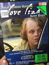 Love Liza ex-rental region 4 DVD (2002 Philip Seymour Hoffman drama movie) RARE