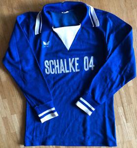 Schalke 04 Trikot Erima 70er Small Shirt Oldschool Nordkurve Worn Rarität Selten