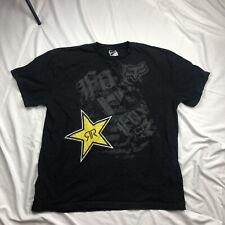 Black Rockstar T-Shirt . Size XXL