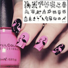 BORN PRETTY BP-L019 Nail Art Stamping Image Plate Manicure Template Lovely Owl