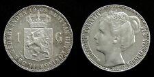 Netherlands - 1 Gulden 1909 Prachtig-