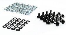 Schrauben Set 5mm schwarz Verkleidungsschrauben M5 Auto Motorrad Roller Klemmen