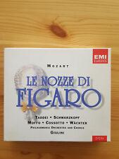 Mozart: Le Nozze di Figaro. Taddei, Moffo, Waechter, Schwarzkopf, Cossotto, Giul