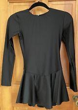 Adult Mondor Black Figure Skating Dress - Medium