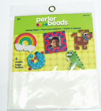 Perler Beads FunFusion Ironing Paper - White - 6.5 x 8 inches - 6 pieces