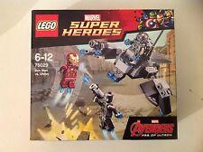 Lego super heroes 76029 iron man vs ualtron marvel avengers avec 4 mini figures.