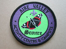 Aire Valley Activity Centre Cloth Patch Badge Boy Scouts Scouting L3K B