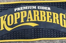Authentic Kopparberg Cider Rubber Bar Runner / Drip Mat Pub Mancave Upcycle
